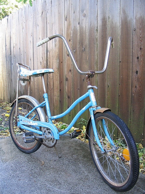 Girls Banana Seat Bike